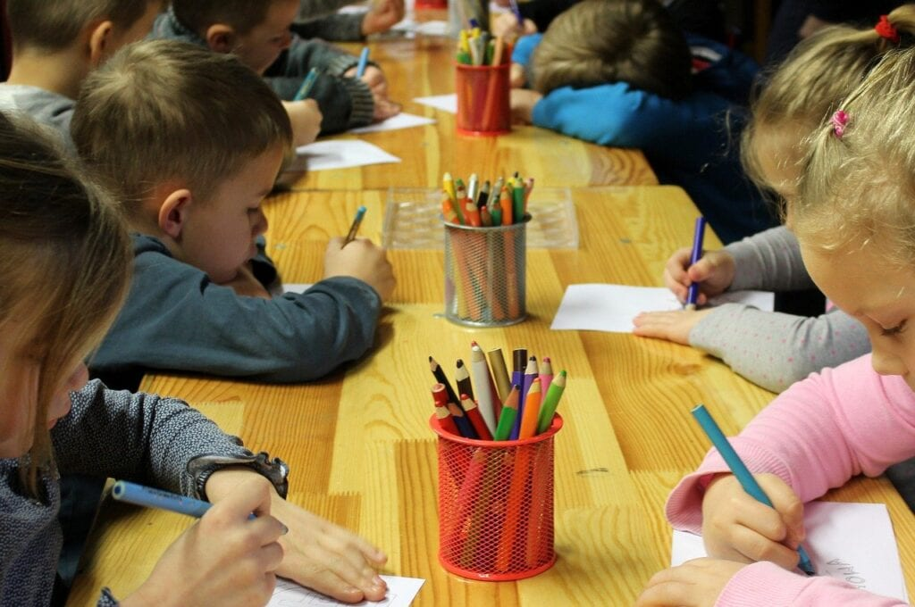 children-colouring