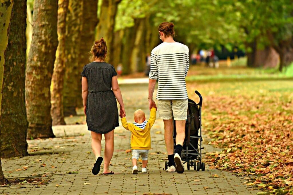 family-stroll