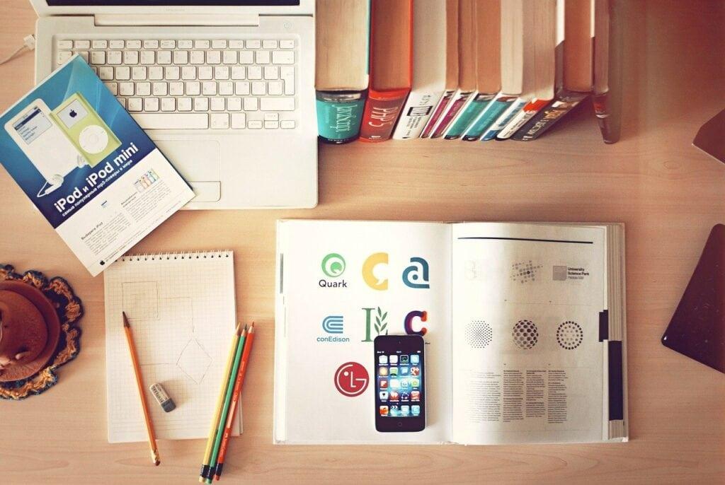 notebook-desk